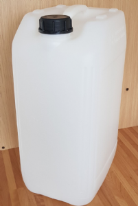 25 Litre New Plastic Screw Top Jerry Can Container